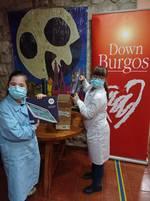 Down Burgos recibe 8 tabletas de Down España