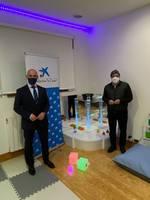 La Fundación la Caixa y Caixabank aportan 11.000€ en el nuevo espacio mutisensorial de Down Burgos