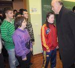 Visita de Vicente Del Bosque