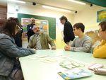 El subdelegado del Gobierno visita Down Burgos